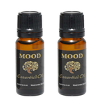 Bergamot Coconut Essential Oil Duo  2 x 10ml - MoodEssentialOils.co.uk