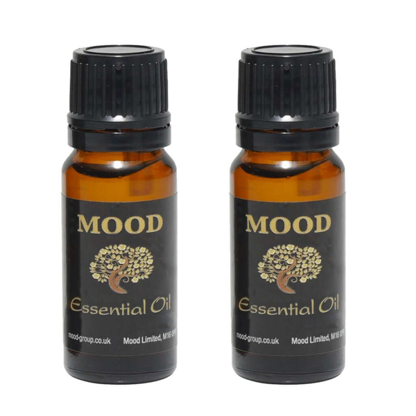 Bergamot Sandalwood Essential Oil Duo  2 x 10ml - MoodEssentialOils.co.uk