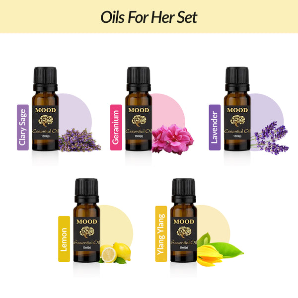 Oils For Her Set - MoodEssentialOils.co.uk