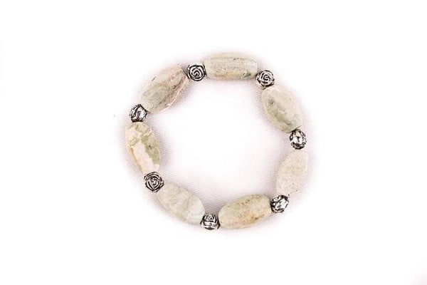 Amazonite Crystal Bracelet - Mood Essential Oils