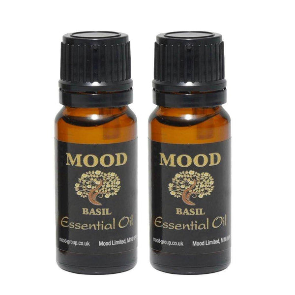 Basil Essential Oil 20ml - MoodEssentialOils.co.uk