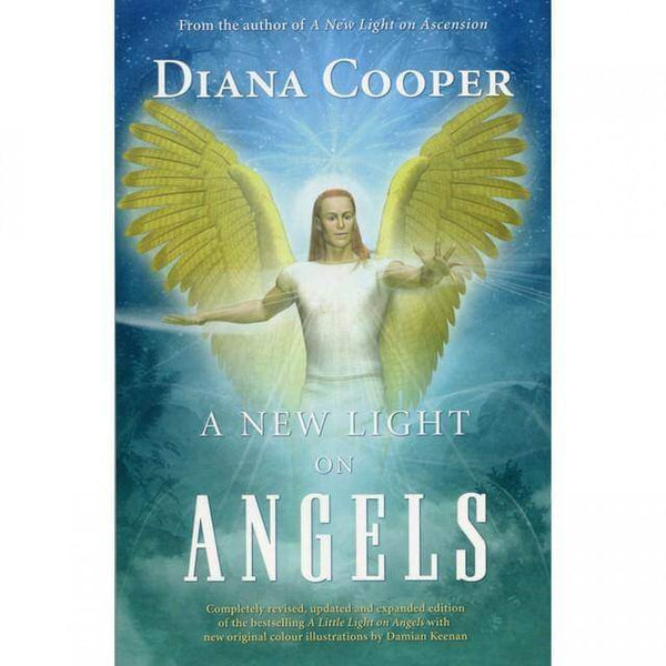 A New Light On Angels Book - Mood Essential Oils