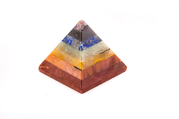 7 Chakra Power Healing Pyramid - Mood Essential Oils