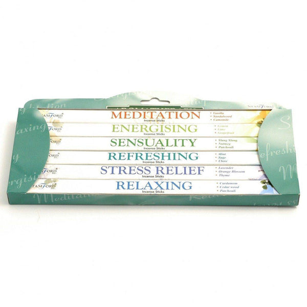 Incense Sticks Aromatherapy Scent Collection - MoodEssentialOils.co.uk
