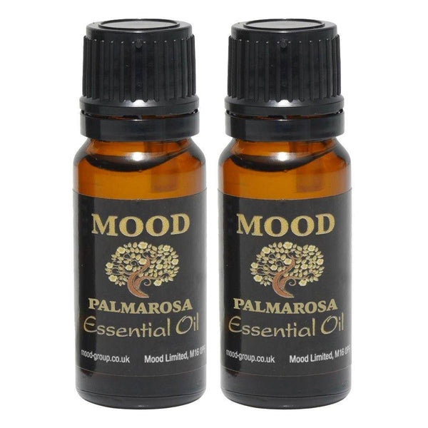 Palmarosa Essential Oil 20ml Natural Aromatherapy Essential Oils Diffuser Burner - Mood Essential Oils