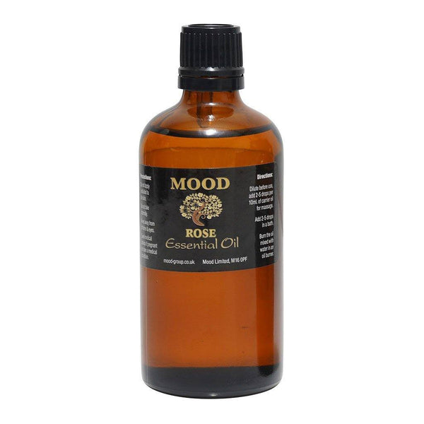 Rose (Commercial) Essential Oil 100ml Natural Aromatherapy Essential Oils - Mood Essential Oils