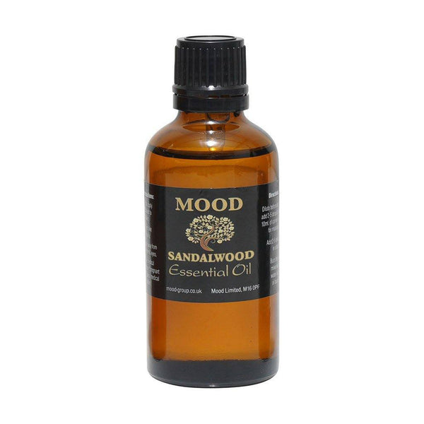 Sandalwood Essential Oil 50ml - MoodEssentialOils.co.uk