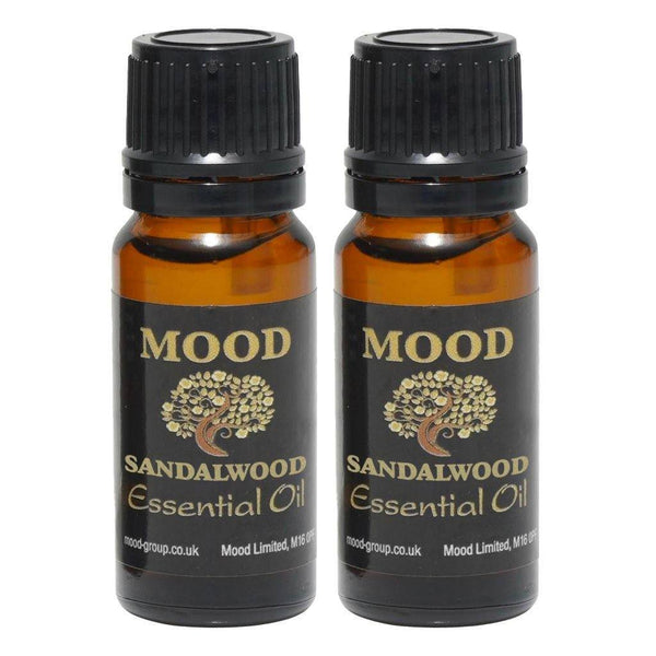 Sandalwood Essential Oil 20ml - MoodEssentialOils.co.uk