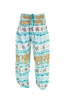 Elephant Print Yoga Pant - MoodEssentialOils.co.uk
