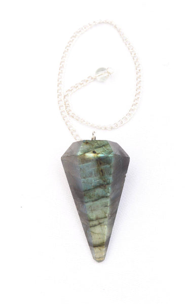 Labradorite Pendulum - Mood Essential Oils