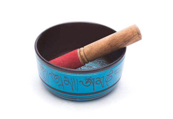 Blue Singing Bowl - Mood Essential Oils