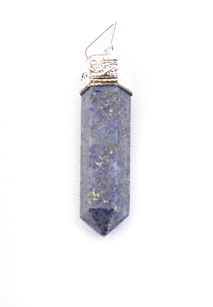 Plain Crystal point Pendant Lapis Lazuli - Mood Essential Oils