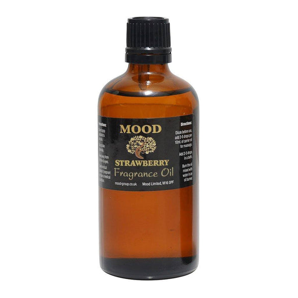 Strawberry Fragrance Oil 100ml - MoodEssentialOils.co.uk