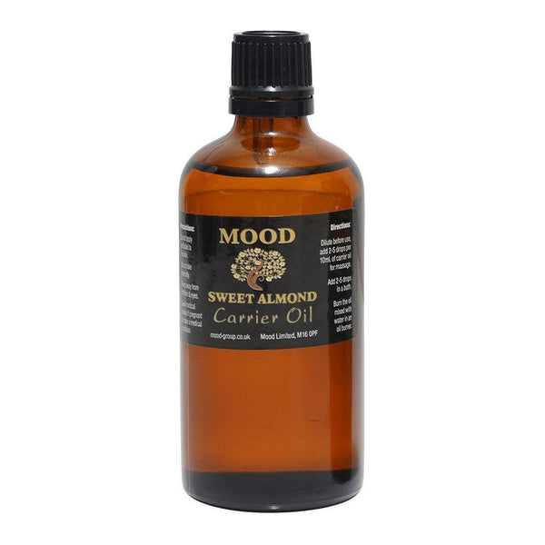 Sweet Almond Carrier Oil 100ml - MoodEssentialOils.co.uk