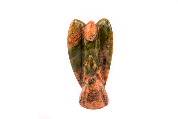 Unakite Jasper Crystal Guardian Angel - Mood Essential Oils