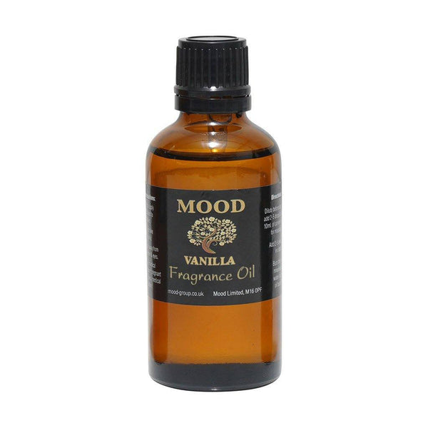 Vanilla 50ml Fragrance Oil Natural Home Fragrances Candle & Soap Making - Mood Essential Oils