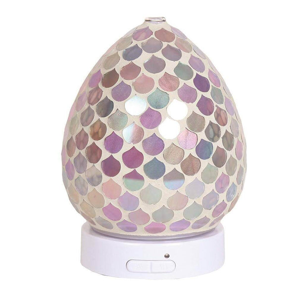 LED Ultrasonic Diffuser - Pink Droplet - Mood Essential Oils