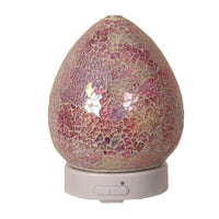 LED Ultrasonic Diffuser - Pink Crackle - Mood Essential Oils