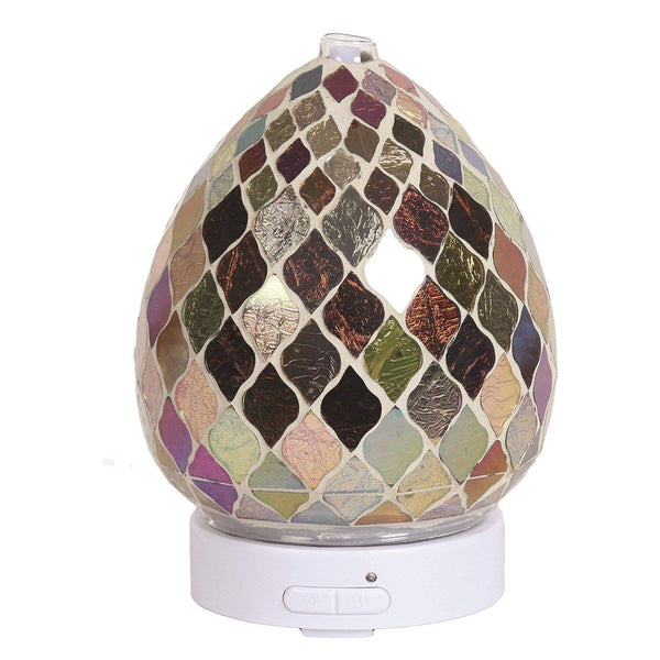 LED Ultrasonic Electric Diffuser - Copper & Gold - MoodEssentialOils.co.uk
