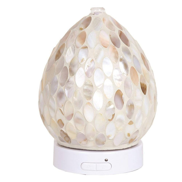LED Ultrasonic Diffuser - Mother Of Pearl - Mood Essential Oils