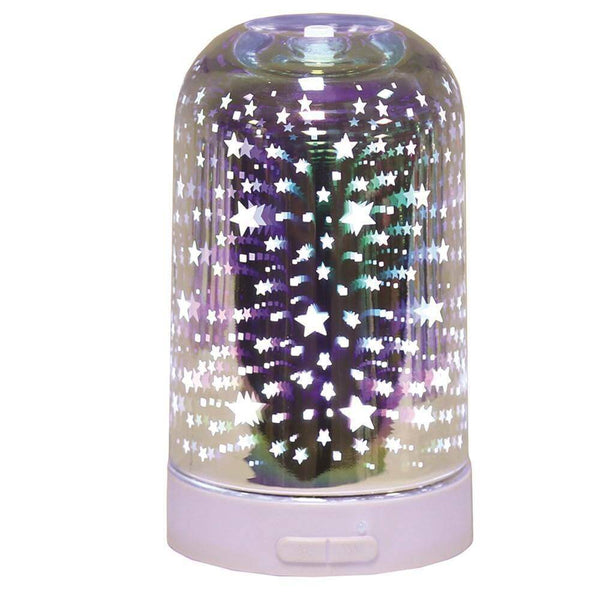 3D Ultrasonic Electric Diffuser - Stars - Mood Essential Oils