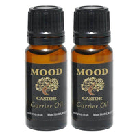 Carrier Oil Castor 20ml Aromatherapy Diffuser Burner Therapeutic Oils - Mood Essential Oils