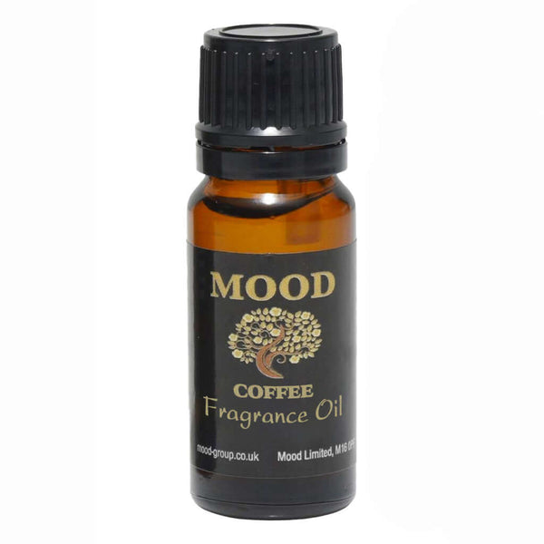 Coffee 10ml Fragrance Oil Natural Home Fragrances Candle & Soap Making - Mood Essential Oils
