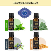 Third Eye Chakra Oil Set