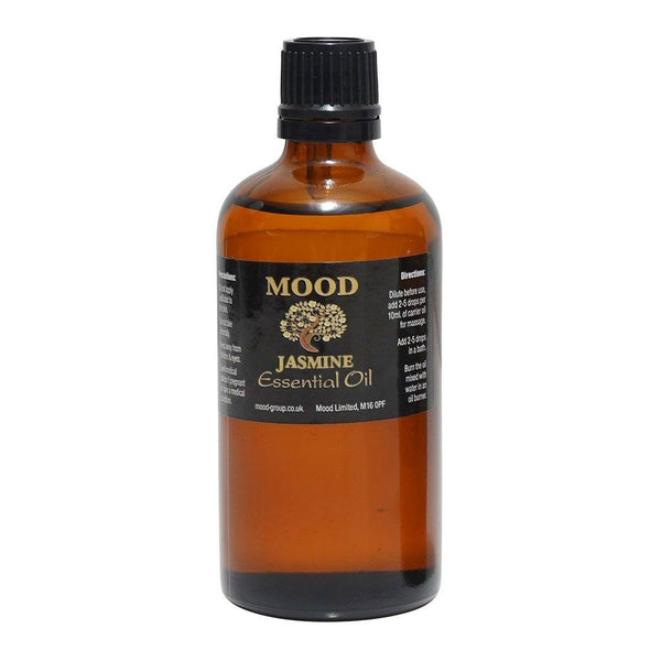 Jasmine Essential Oil 100ml - MoodEssentialOils.co.uk