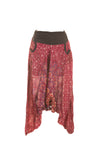 Peacock design Ali Baba Style yoga pants - MoodEssentialOils.co.uk