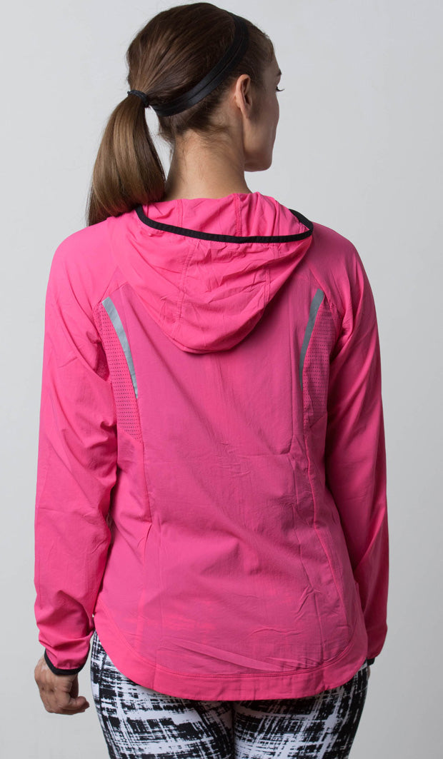 Seattle Lightweight Jacket pink back