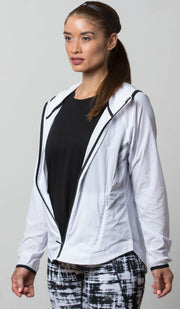 Seattle Lightweight Jacket white front