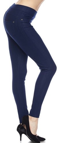 Jeggings in Ankle Length in Blue