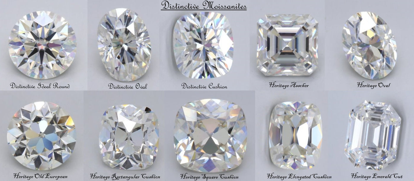 Distinctive Moissanite