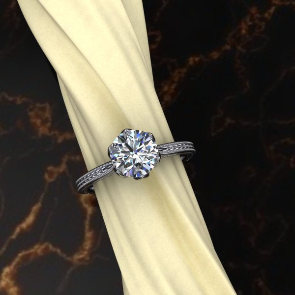 The AV Tulip Solitaire