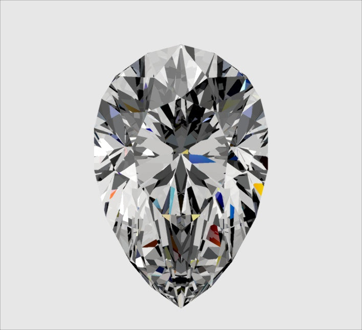 Your Custom Cut Distinctive Pear Cut Moissanite