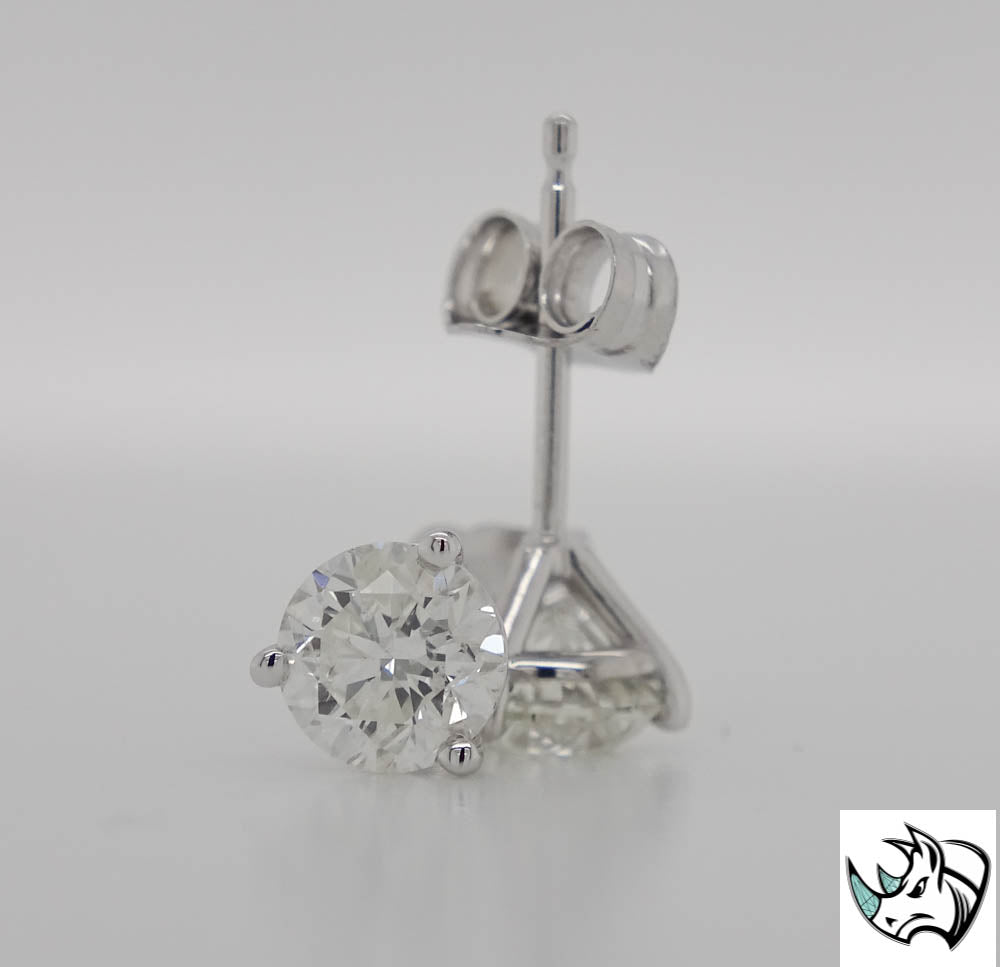 SALE 1.42cttw Diamond Stud Earrings