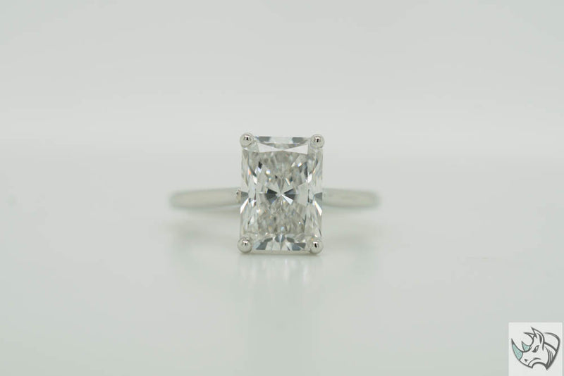 2.59ct E VS1 Radiant Cut Lab Grown Diamond