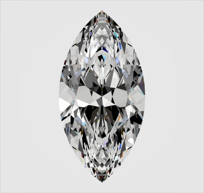 Your Custom Cut Heritage Marquise or Moval Cut Moissanite