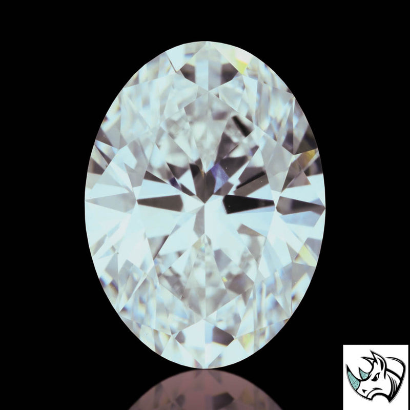 2.65ct F VVS2 Oval Brilliant Cut Lab Grown Diamond