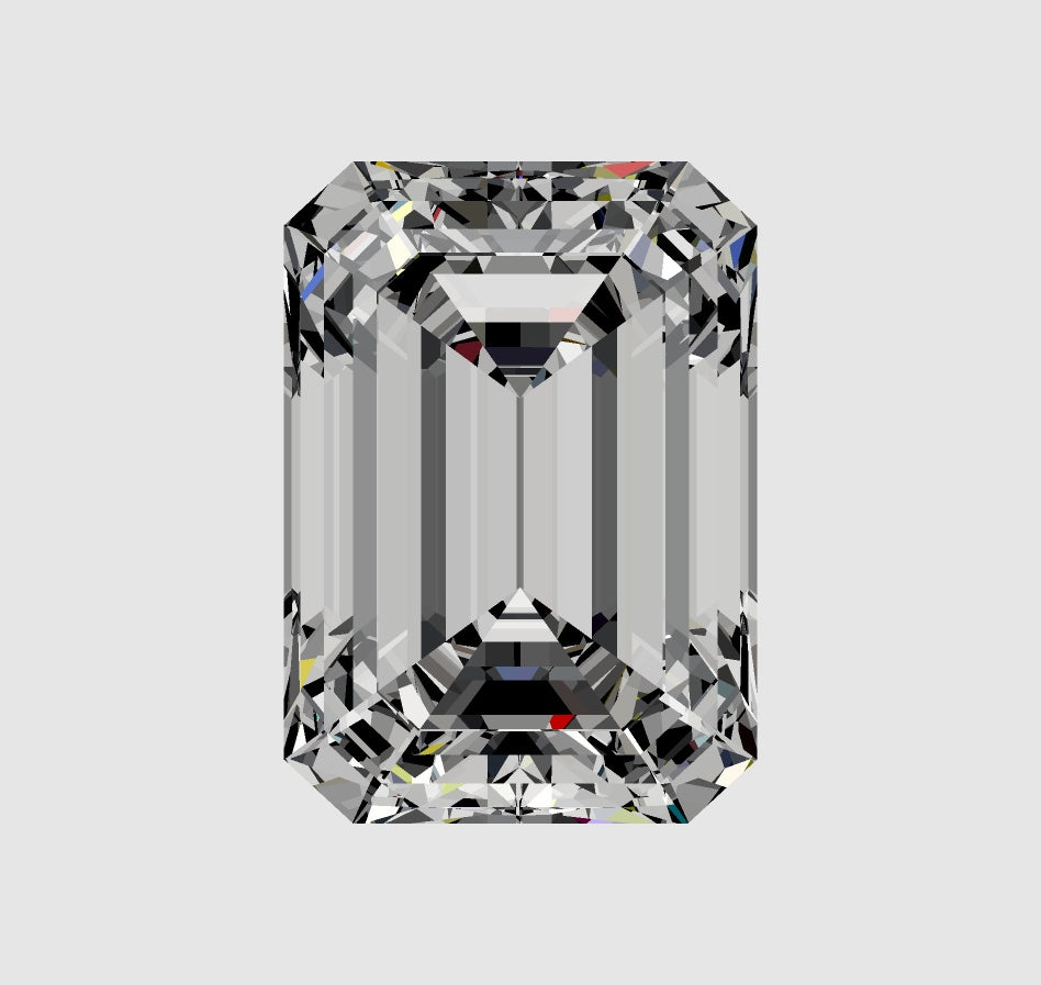Your Custom Cut Distinctive Emerald Cut Moissanite