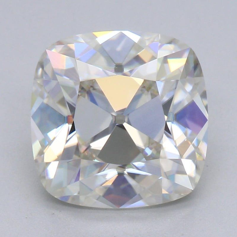 9mm 3.55ct D/F VS Heritage Square Cushion Moissanite