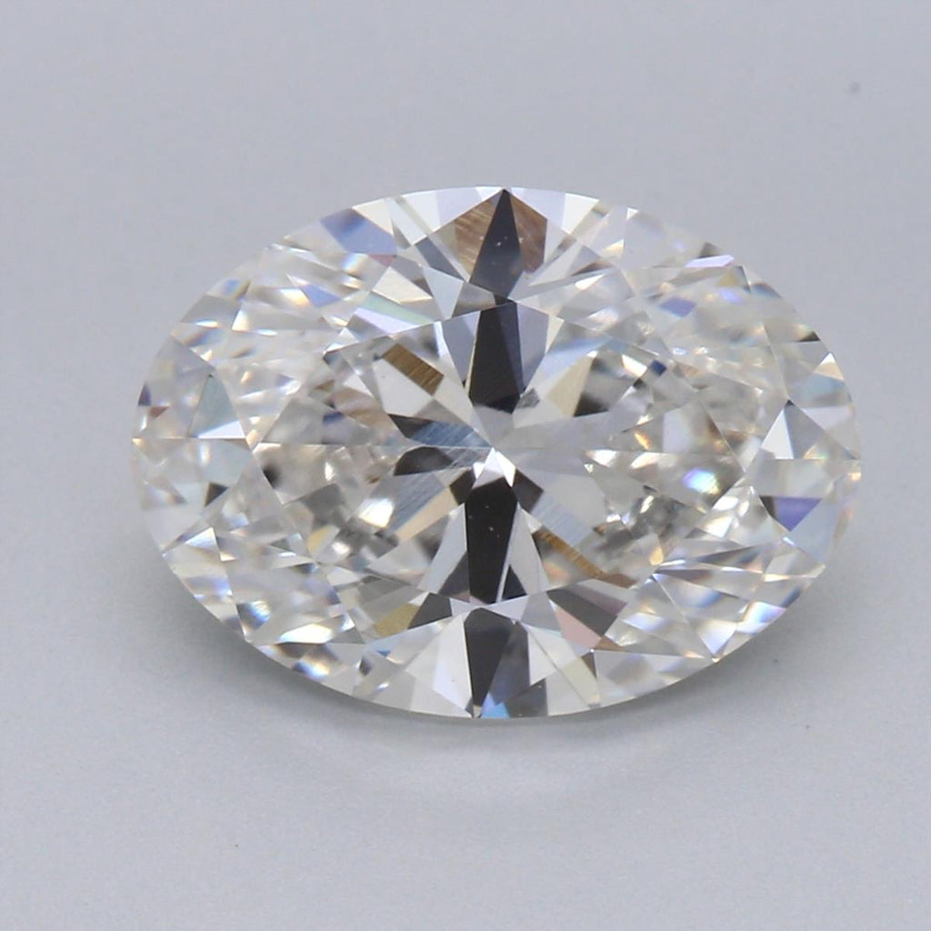 2.37ct G VVS2 Oval Brilliant Cut Lab Grown Diamond