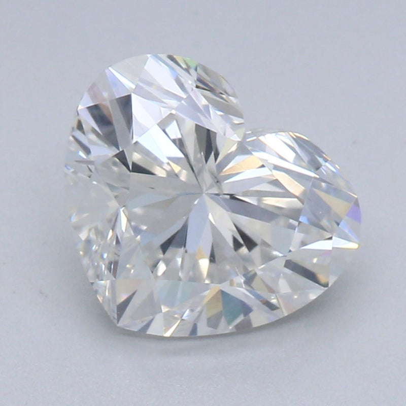 1.30ct E SI1 Heart Shape Brilliant Cut Diamond