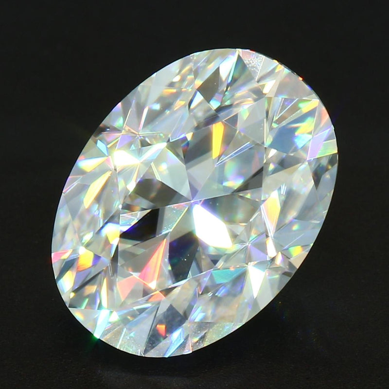 Your Custom Cut Heritage Oval Cut Moissanite
