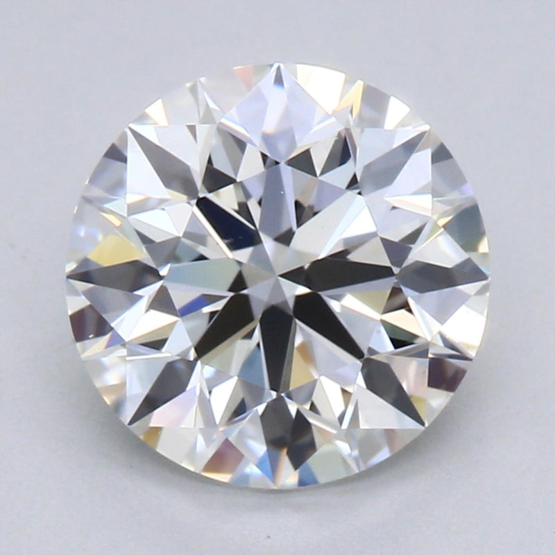 1.41ct F VS1 Hearts & Arrows Round Brilliant Cut Diamond