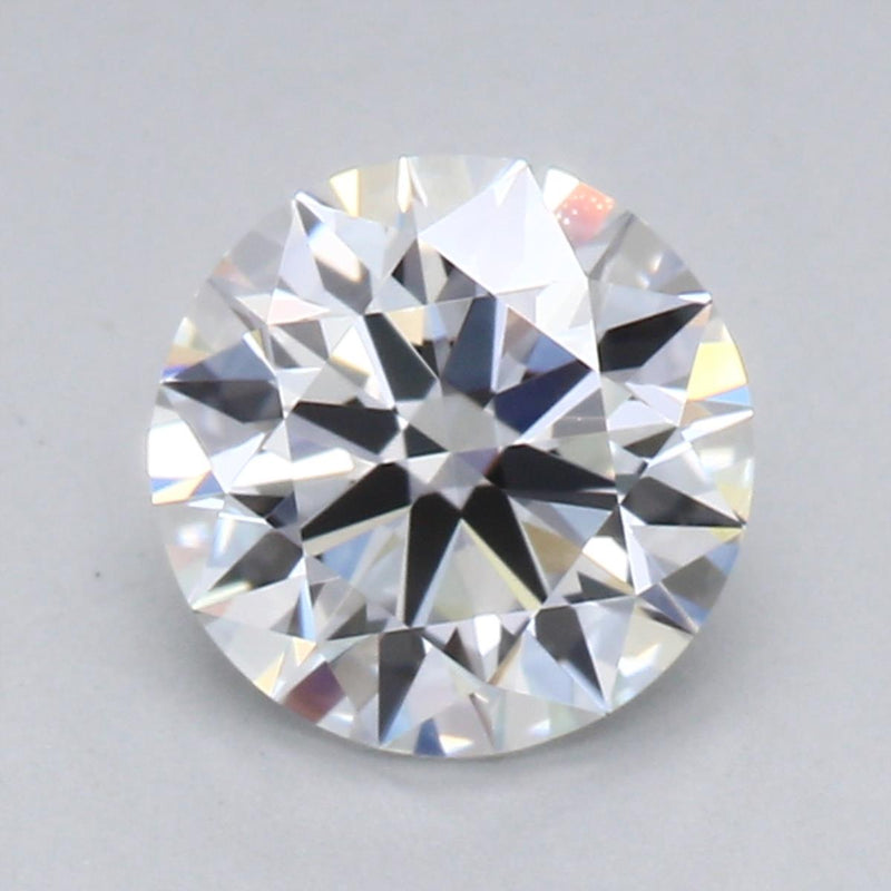 0.81ct E VVS2 Hearts & Arrows Round Brilliant Cut Diamond