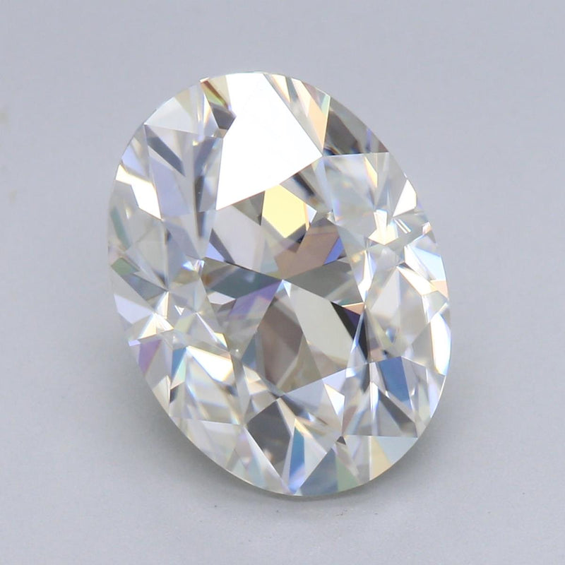 9.5mm 2.15ct D/F VS Heritage VINTAGE OVAL Moissanite
