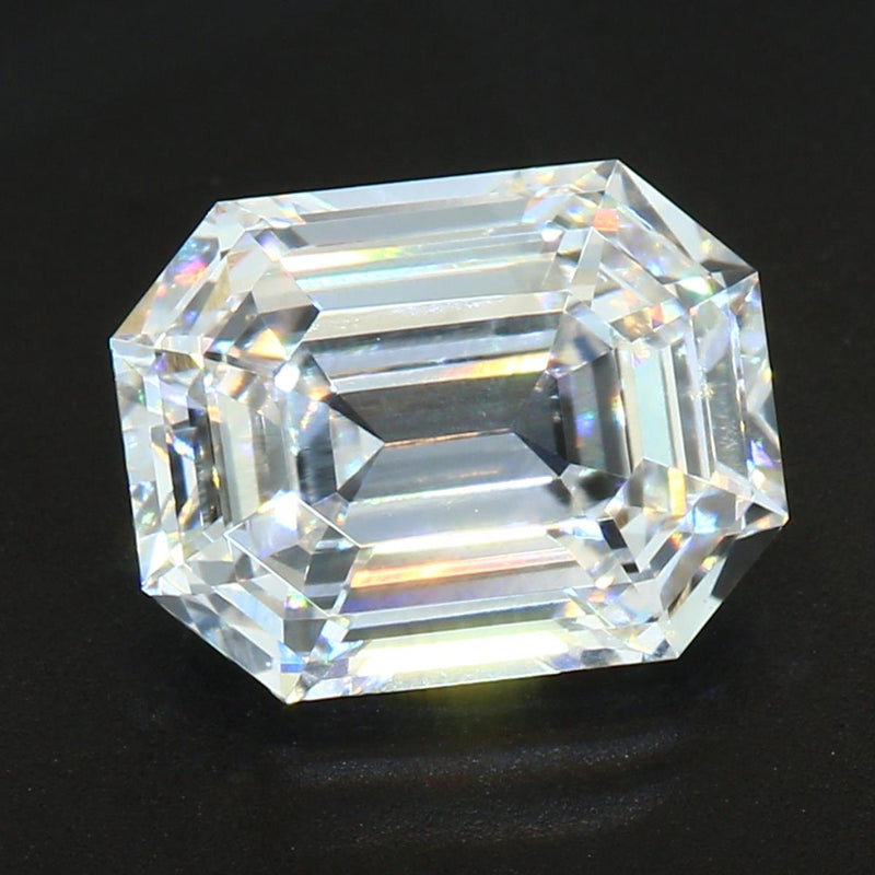 Your Custom Cut Lab Grown August Vintage Emerald Cut Diamond
