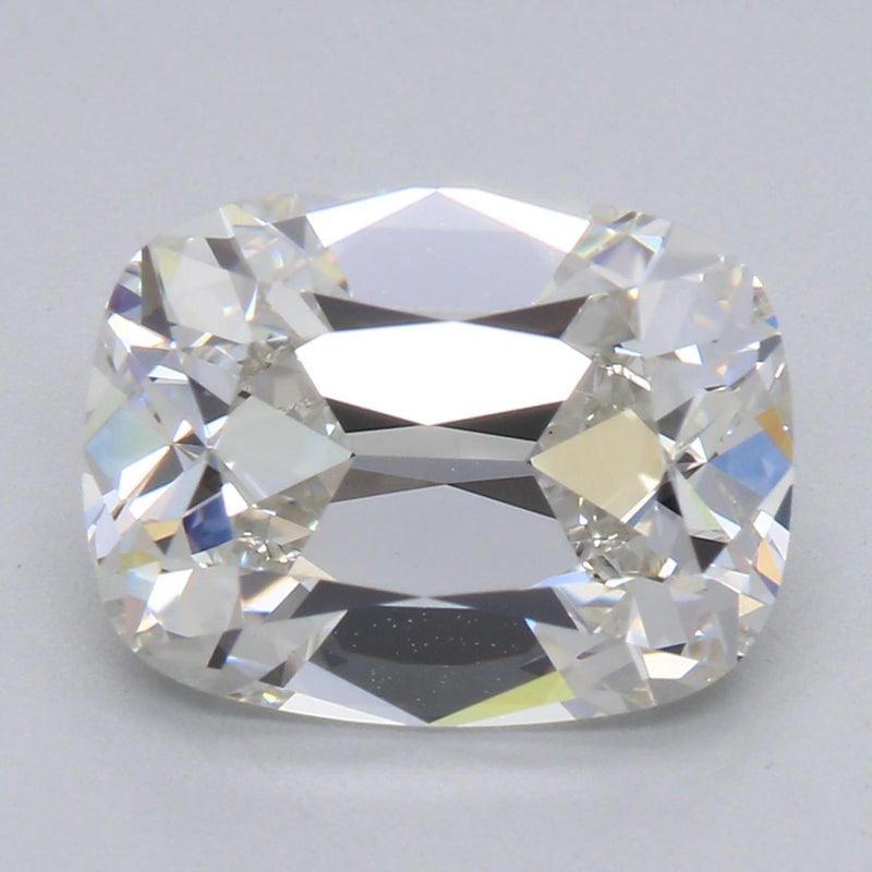 Your Custom Cut Lab Grown Elongated August Vintage Cushion Diamond